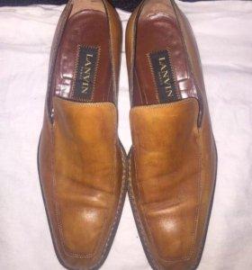 Мужские туфли Lanvin оригинал 41,5