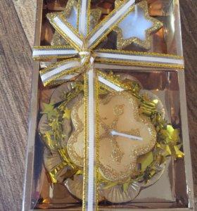 Подарочный набор свечей