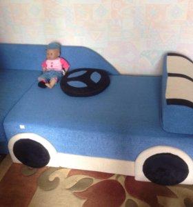Диван- кровать машина