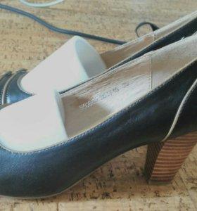 Туфли из натуральной кожи. Абсолютно новые.