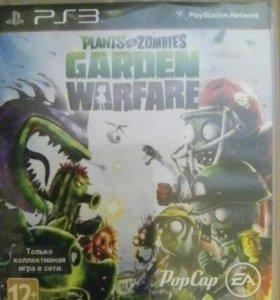 Игра для ps3 plants vs zombies