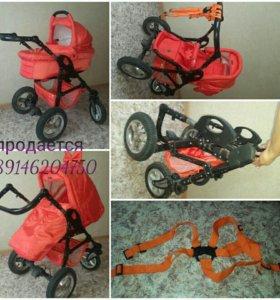 Продам детскую коляску ТАКО(Польша)2 в 1.