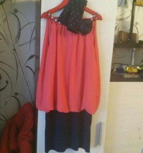 Платье для девочки на 9-10 лет