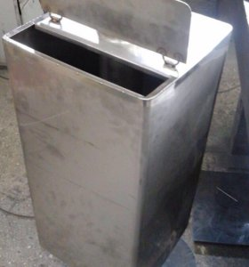 Бак на печь для бани с трубой