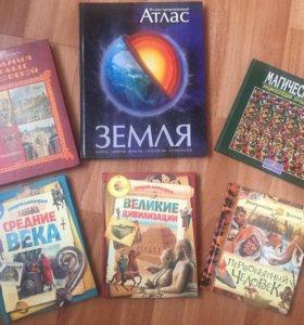 Детские книги: энциклопедии, сборники и др