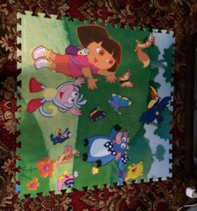 Детский игральный коврик