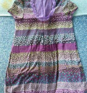 Платье-туника ручной работы S