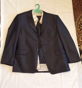 Костюм мужской новый р.54-56 с рубашкой