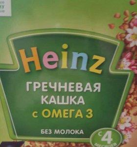Каша Heinz безмолочная.