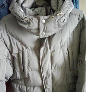 Новая мужская зимняя куртка р 54