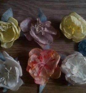 Цветы для скрапа