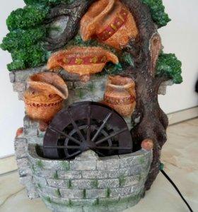 Декоративный фонтан увлажнитель