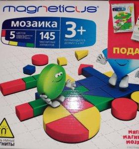 Магнитная мозаика 3+ Новая! 145 элементов