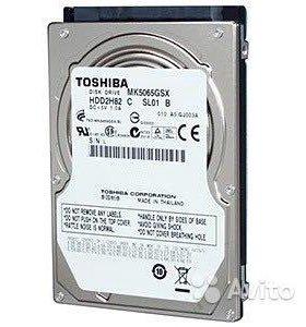 Жесткий диск для ноутбука HDD Toshiba MK5065GSX
