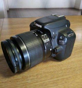Фотоаппарат Canon 100d + 2 объектива