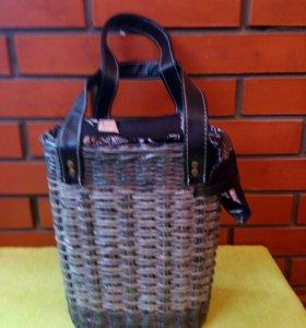 Модная сумка плетеная .Ручная работа