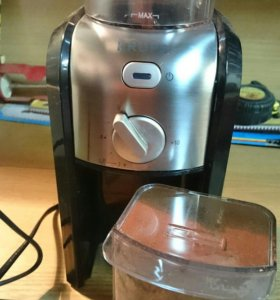 Жерновая кофе-мельница