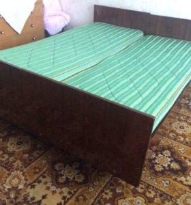 Кровати односпальные 2 шт