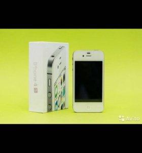 iPhone 4s 16 gb Белый