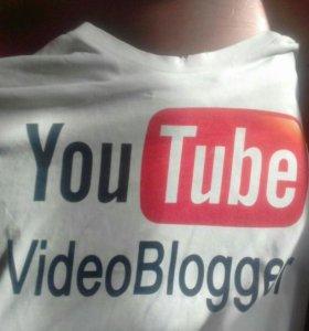 Youtube футболка