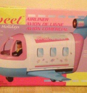 Детский самолёт для игры с куклами(29 см)