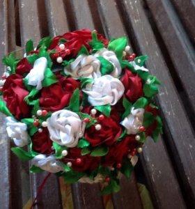 Свадебный букет ,,Роскошная роза''