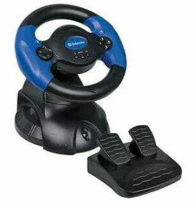 Игровой руль Defender.