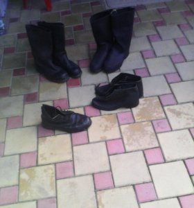 Сапоги и ботинки кирзовые