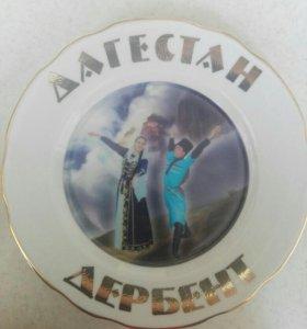 Тарелка сувенир
