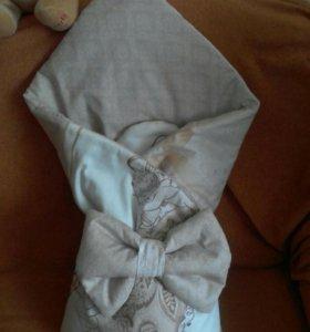 Пошив детского одеяла ( на выписку), бортики