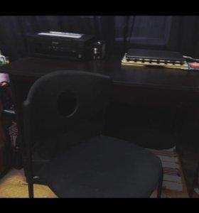 Стол и стул (икеа)