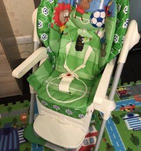 Кресло для кормления Chico polly football