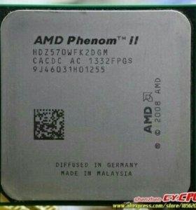 AMD Phenom II X2 570 сокеты AM2+, AM3, AM3+