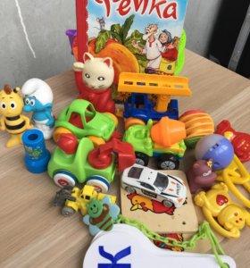 Игрушки пакетом , цена за все