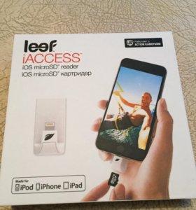 Картридер для iPhone, iPad, iPod leef iaccess