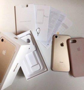 iPhone 7 32gb gold, или обмен на 7+