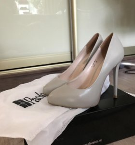 Туфли Paolo Conte бежевые