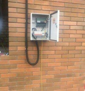 Услуги электрика. Профессиональный электромонтаж.
