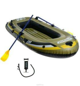 Лодка надувная jilong fishman 200SET