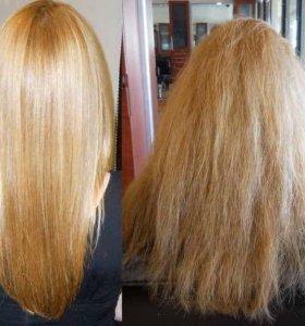 Ламинирование волос, ботокс