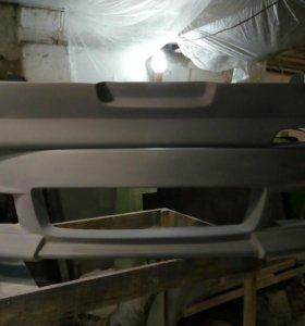 Передний бампер и задняя накладка Wald