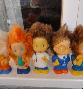 резиновые игрушки советские