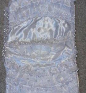 Конверт летний на выписку с одеялком