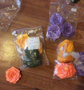 Искусственные цветы, букетики