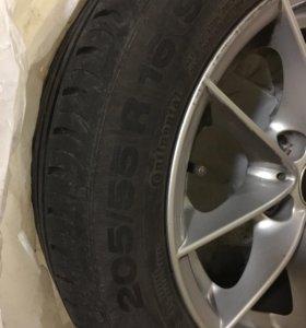 Комплект колес от бмв 3 серии на летней резине