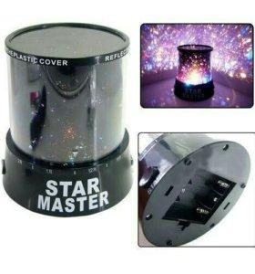 Ночник LED проектор звездного неба Star Master