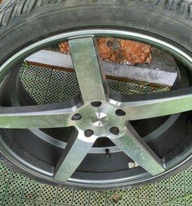 Комплект диски и резина Vossen