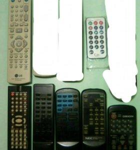 Пульты на телевизоры и DVD
