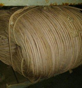 Канат веревка 6-7мм диаметр бухта 900метров