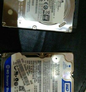 HDD 320гб ноутбук